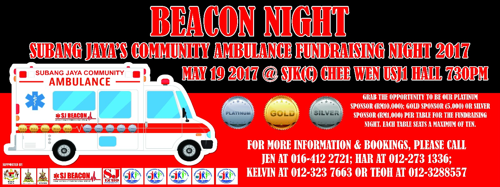 Beacon Night to save lives.